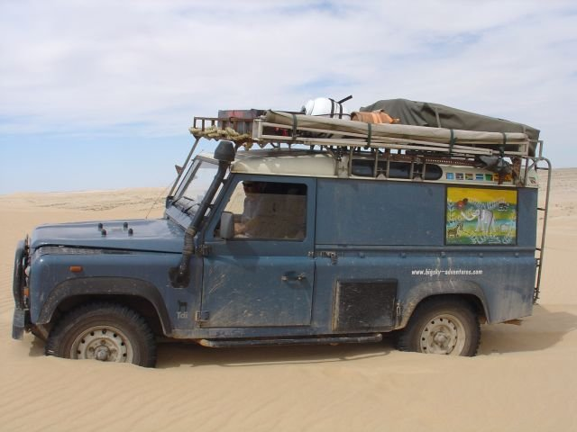 Overland live overland expedition adventure travel for Garage land rover nancy